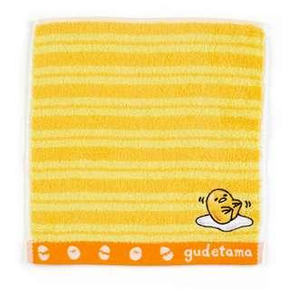 Japan Sanrio Gudetama Petit Towel (Border)