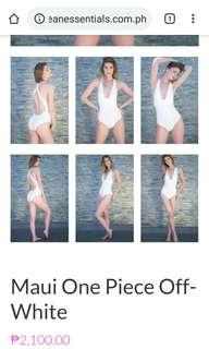 Ocean Essentials White Swimsuit