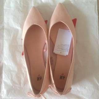 Flatshoes PINK H&M