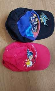 Mickey mouse and transformer head cap