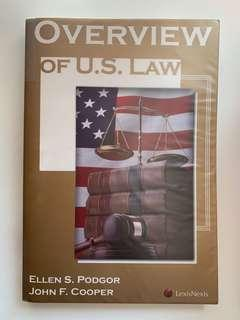 Overview of US law