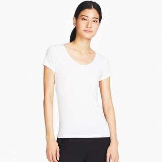 Uniqlo Airism pink top