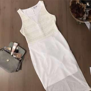 Kitschen Elegant White Dress
