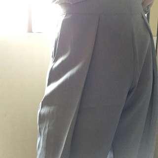 🚚 Dogoose 質感灰藍 霧藍 打褶褲