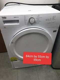 🚚 Used beko cheap 7kg dryer in very good condition with delivery
