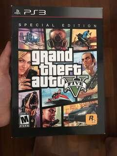 Grand Theft Auto V 5 ps3 special edition