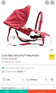 🚚 Lucky Baby Siesta Plus Baby Rocket