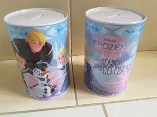 Celengan kaleng frozen (2 item)