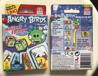 Angry Bird Holiday Edition card game