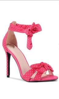 Pink polka dot High Heels