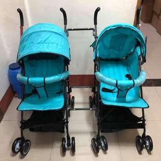 Twin Stroller No.2 For Baby and Kids