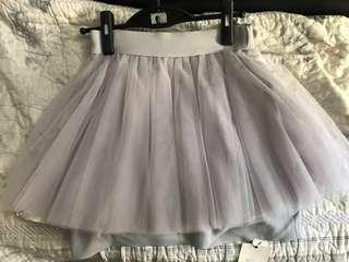 迷你半紗裙