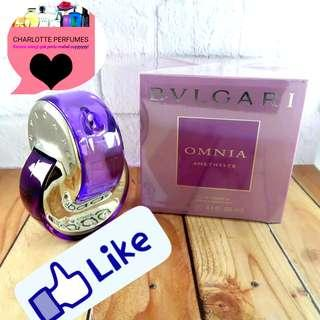 Bvlgari Omnia Amethyste Eau De Parfum Original Singapore✔️