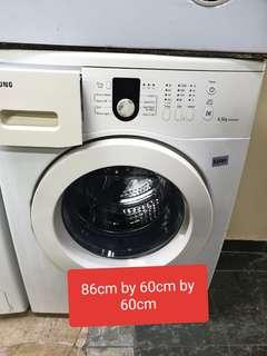 🚚 Used Samsung 6.5kg top load washing machine with free delivery