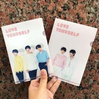 BTS Love Yourself Tour Official L-Holder