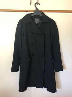 Kate Sylvester Black Coat