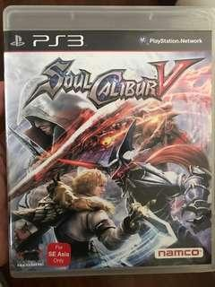 PS3 Games game soul calibur V 5
