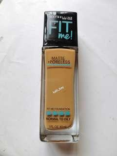 FREE SHIPPING! MAYBELLINE FIT ME MATTE PORELESS FOUNDATION