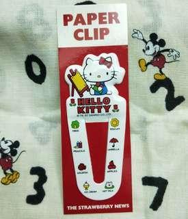 Hello Kitty 書籤