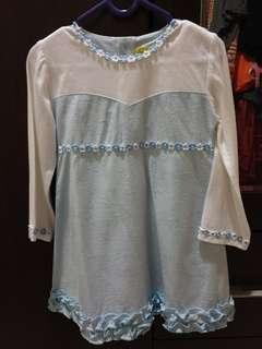 Dress eyka 2 tahun