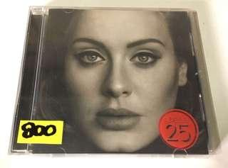 Adele 25 CD Album
