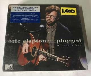 Eric Clapton Unplugged CD and DVD Album