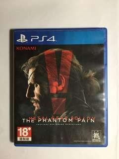 PS4 metal gear solid v 5 the phantom pain