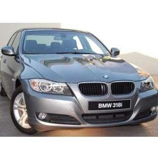 2012 BMW 318i for Rent / Lease