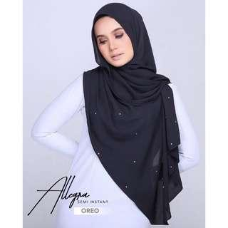 🚚 Allegra Semi Instant Shawl by GranDahlia - Hot Colours Still Available