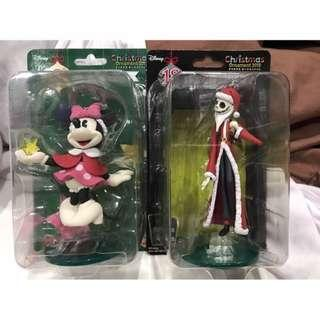 🚚 日本全家限定 一番賞 聖誕版迪士尼公仔 米妮/傑克
