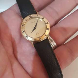219217b62f0 Authentic Gucci Vintage Watch