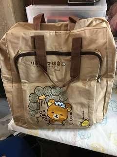 Rilakkuma 鬆弛熊 懶懶熊 旅行袋 大袋 Travel bag