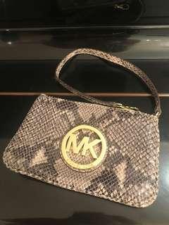 Michael kors clutch bag 小手袋 100%真 90%新