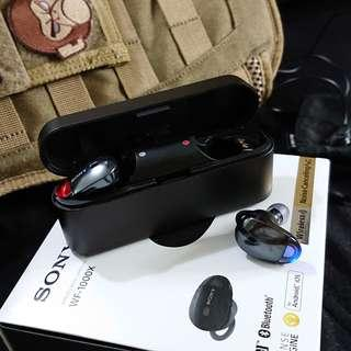 Sony wf-1000x 真無綫藍芽耳機