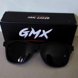 Sunglasses merk Geoff Max SK8wood 3 Matte Black