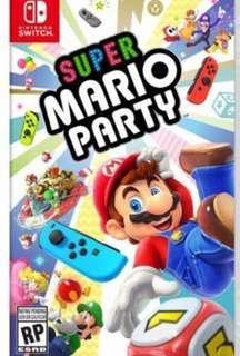 徵Super mario party(中文)$280