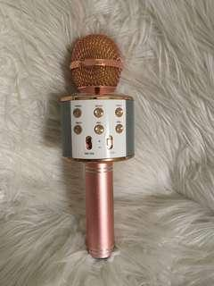 Bluetooth Microphone (Rose Gold)