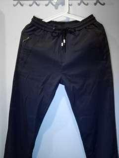 BN Jogger Pants with zip and back pockets