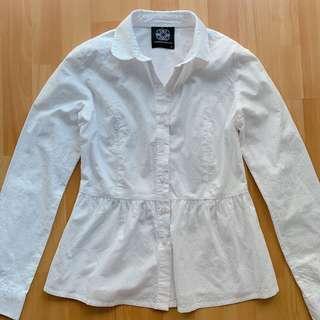 D.d collective white shirt