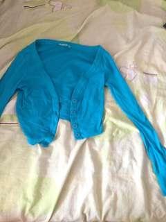 Terranova blue cardigan