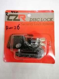 CZR Disc Lock