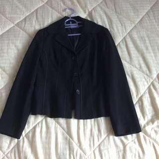 🚚 New Agnes B Black Fully Lined Jacket Blazer