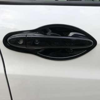 Honda vezel hrv gloss black door handles