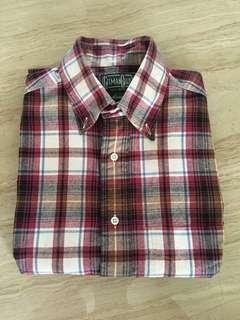Gitman Brothers Vintage Long Sleeve Flannel shirt