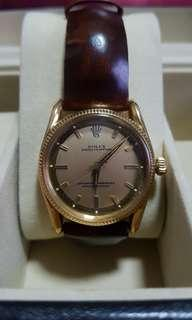 Rolex oyster perpetual 18k