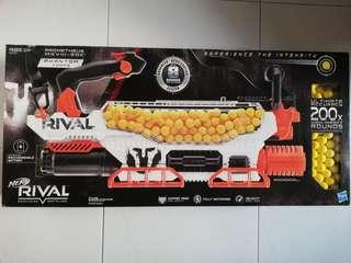 BNIB Nerf Rival Prometheus 200 Rounds Blaster with Rechargeable Battery Pack Phantom Corps White Hasbro TRU