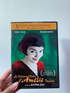 Amelie Movie DVD