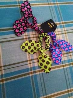 BN Colorful daisy print fabric band