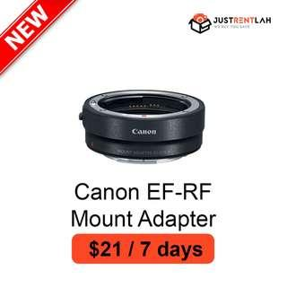 [RENT] Canon EF-EOS R Mount Adapter