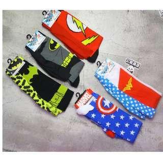 「Dc Comics Marvel 系列 披風襪子 蝙蝠俠 美國隊長 神力女超人 閃電俠 @公雞漢堡」